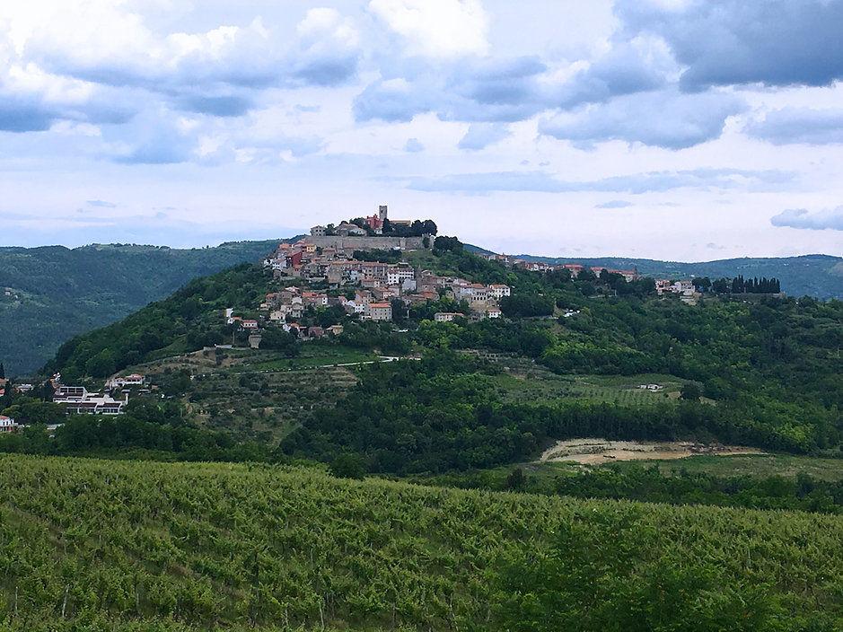 Motovun hilltop