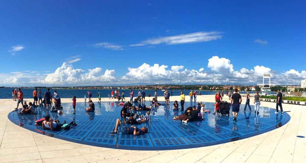 Zadar sun salutation