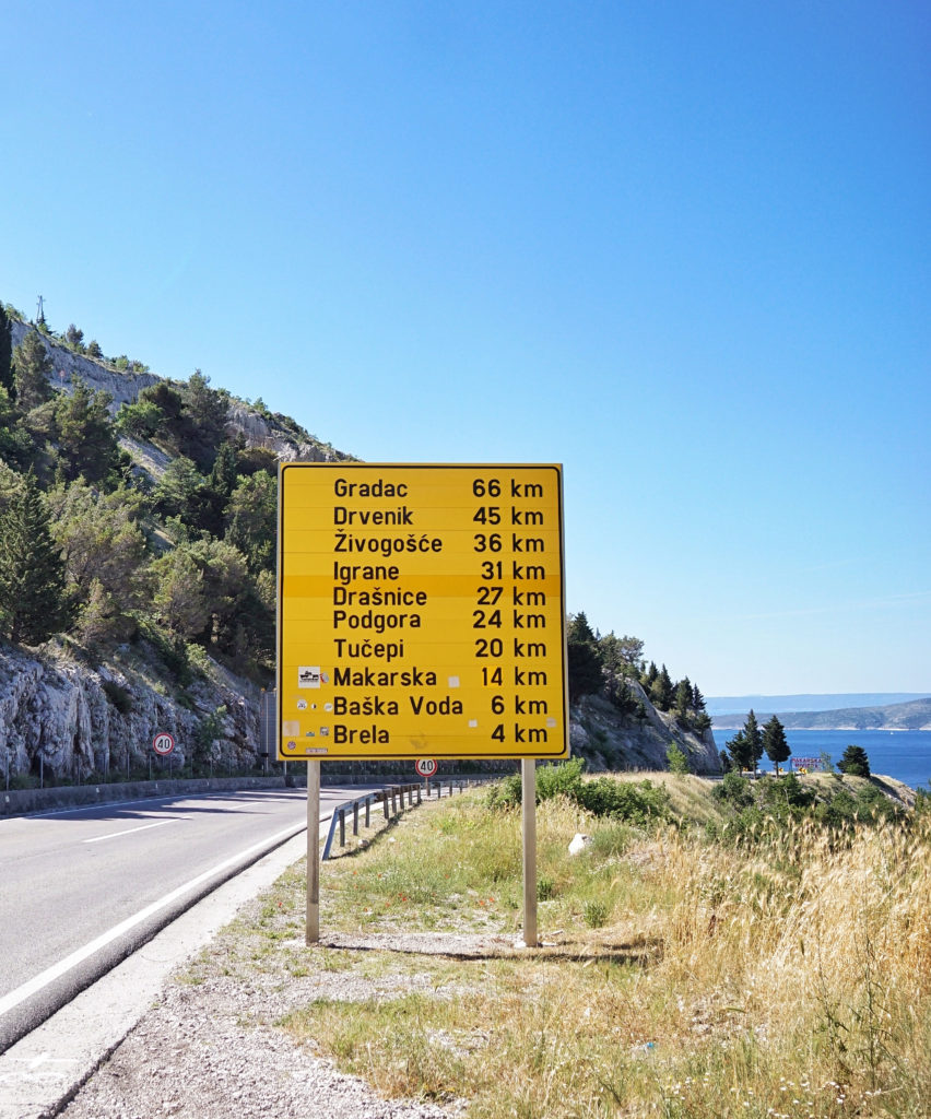 Towns of the Makarska Riviera