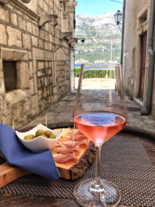 Wine in Korčula