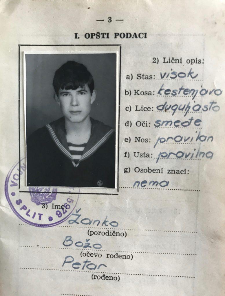 My father, born 1944 in Croatia.