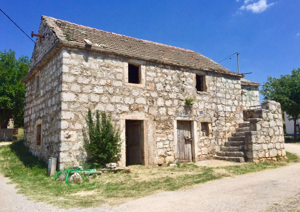 House in Obrovac Sinj, Croatia.